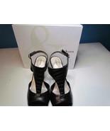 NIB Style & Co Black T-Strap Sandal High Heel 095 M - $61.74