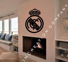 FC Real Madrid SPAIN Wall Decor Vinyl Sticker Decal mural graphics football gift - $26.66