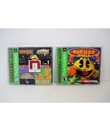 Pac-Man World 20th Anniversary and NAMCO Museum Vol. 1 Sony PlayStation ... - $17.99
