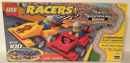 Lego Racers Super Speedway Game - Replacement Pieces And Original Box - $12.92