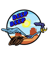 Roadrunner Beep Beep Precision Cut Decal - $3.46 - $11.95