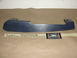 Oem 87 Cadillac Coupe Deville Fwd Right Front Inner Upper Power Seat Track Cover - $29.69