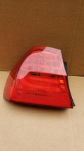 09-11 BMW E90 328 335 Sedan LCI Outer Tail Light Taillight Driver Left LH image 2