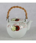 Ceramic Teapot with Bamboo Wood Handle - $16.82