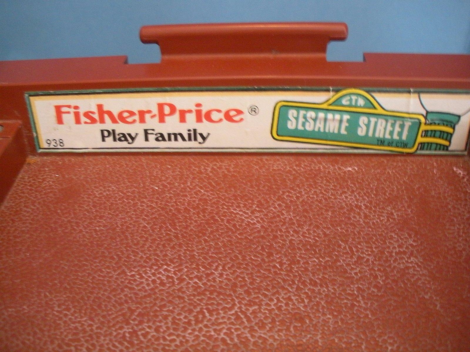Vtg. Fisher Price #938 Sesame St. House 99% Comp./EXC++-NR MT! (Restored) (T) image 6