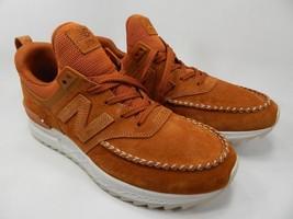 New Balance 574 Sport Size 9.5 M (D) EU 43 Men's Running Shoes Brown MS574NAB