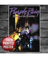 Prince Purple Rain Movie Poster 1984 Music 1980's Art Rock 24x36 - $11.39