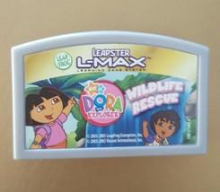 LeapFrog Leapster L-Max Leapster2 TV Game DORA THE EXPLORER WILDLIFE RES... - $8.99