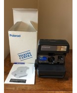 New Polaroid One Step Talking Camera W/ Strap Record Your Voice Uses 600... - $89.95