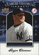 2008 Upper Deck Yankee Stadium Legacy Collection Box Set #90 Roger Clemens - $1.49