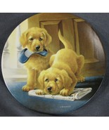 Retrieving Our Dignity Collector Plate It's A Dog's Life Lynn Kaatz Dog ... - $27.95