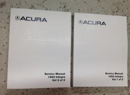 1993 ACURA INTEGRA Service Repair Shop Workshop Manual Set  - $128.65