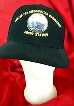 NAVY Military CORRY STATION Center For Information Dominance Eagle Crest... - $19.75