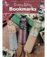 Pretty Kitty Bookmarks in Plastic Canvas Annie's Attic #871833 6 Feline ... - $7.95