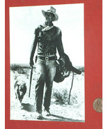 John Wayne Vintage Black & White Classico San Francisco Post Card Unused... - $9.88