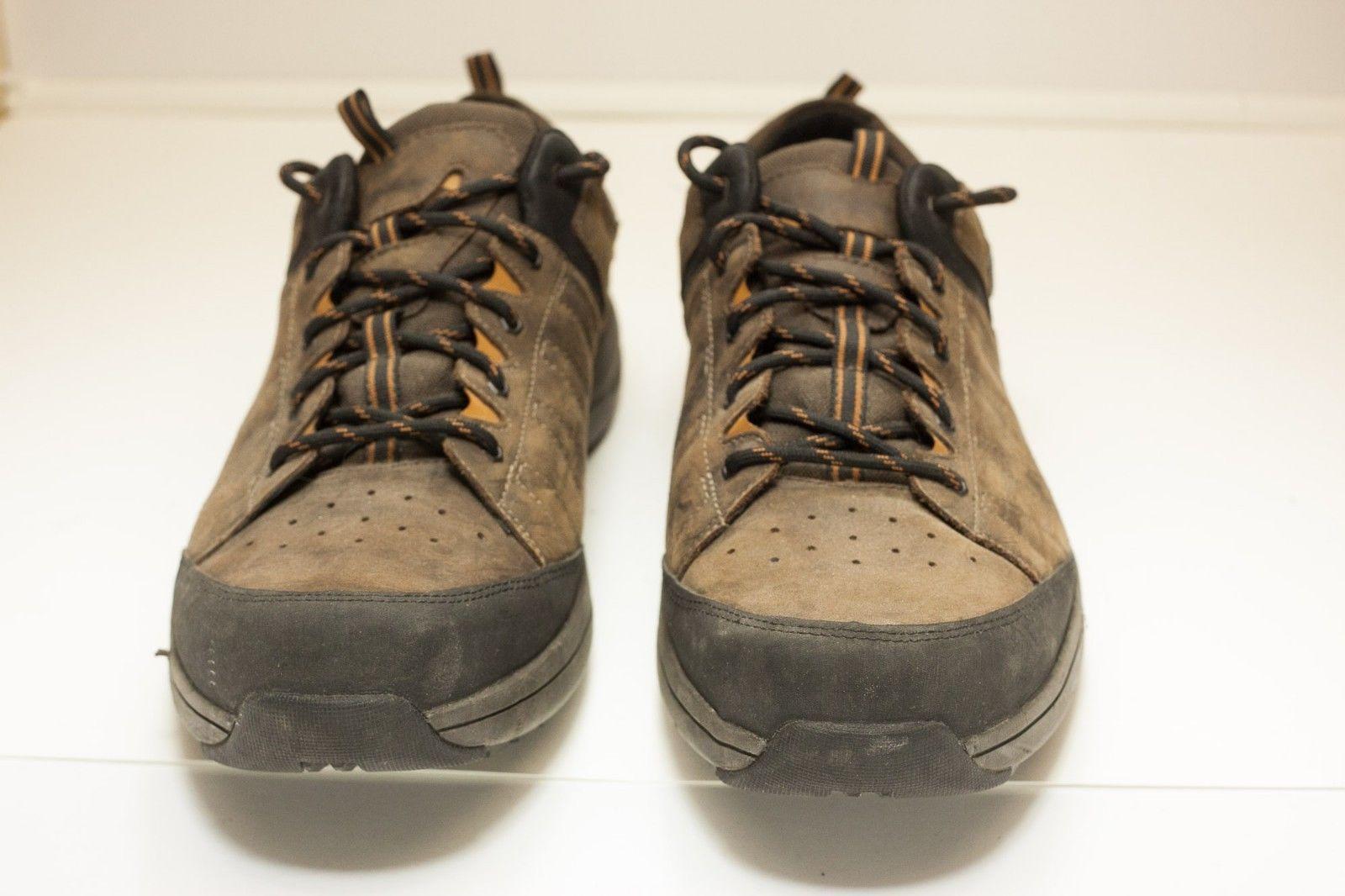 Dunham Seth-dun Waterproof 14 EE Brown Lace Up Men's