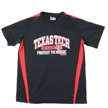 Under Armour Shirt UA Adult Small Loose Heatgear TEXAS TECH Red Raiders Jersey - $17.83
