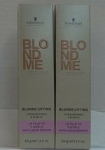 New Schwarzkopf Blond Me Blonde Lifting Up To 5 Levels Of Lift Hair Color 60 Ml - $6.24