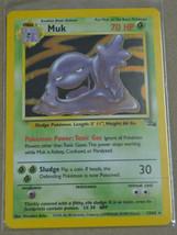 POKEMON MUK FOIL CARD FOSSIL #13/62 NEAR MINT NEVER PLAYED - $13.86