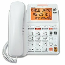 AT&T CL4940 Corded Standard Phone with Answering System and Backlit Display, W.. - $55.02