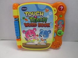 VTECH Touch & Teach Word Book - $12.82