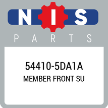544105DA1A Nissan MEMBER FRONT SU, New Genuine OEM Part - $264.75