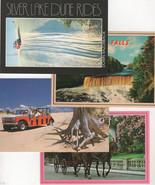 Four Michigan Postcards Blank Backs - $1.75