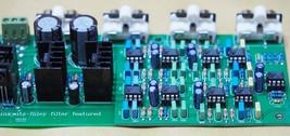 Linkwitz-Riley 3-way electronic crossover 310Hz 3.1KHz shunt reg psu ste... - $54.93