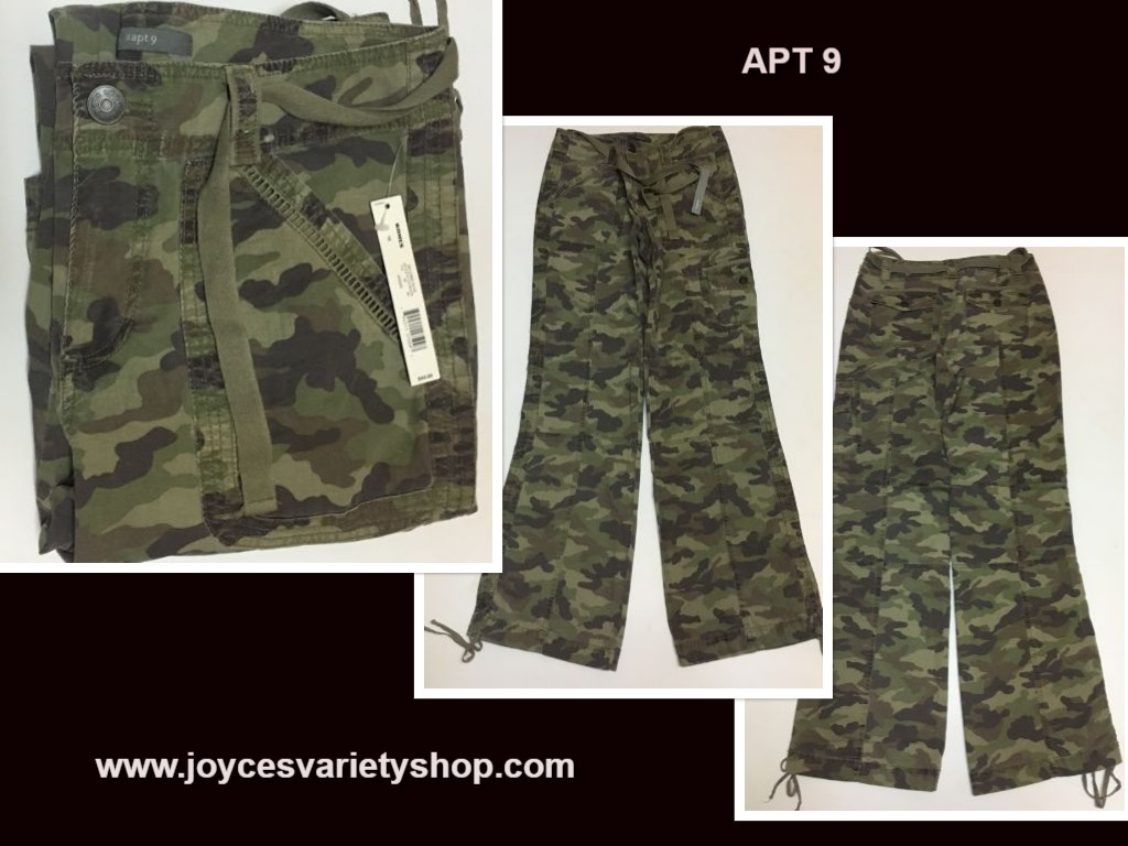 Apt 9 camouflage pants web collage