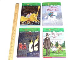 Lot 4x Magic Tree House Books Hard Cover HC Mary Pope Osborne 33 36 40 47 - $9.96