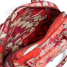 Vera Bradley Signature Cotton Turnlock Satchel Bag, Bohemian Blooms image 4