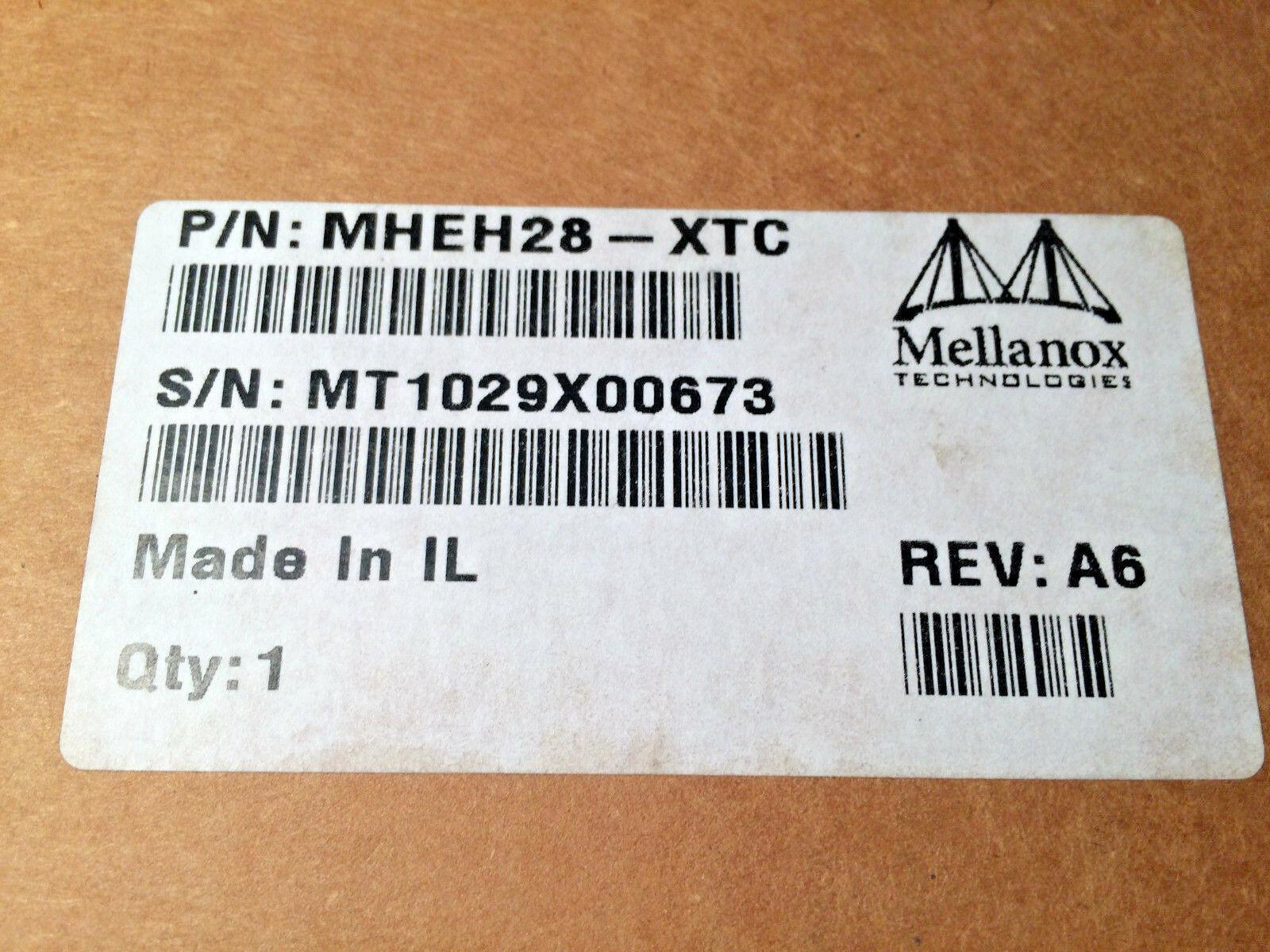 InfiniBand Mellanox MHEH28-XTC Dual Port HCA Card Rev A6 New image 2