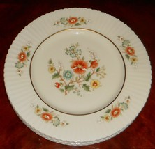Set (4) Lenox TEMPLE BLOSSOM PATTERN  Dinner Plates MADE IN USA - $98.99