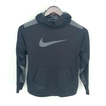 Nike Hoodie Youth Large Therma-Fit Athletic Training Pullover Fleece Lin... - $29.69