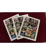 1992 13th National Convention Stadium Club Uncut Sheet Barry Sanders Smi... - $39.59