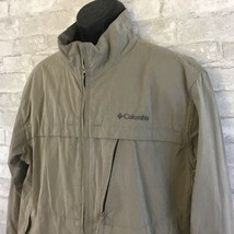 COLUMBIA Men's Cotton Blend Full Zip Jacket Sz XL Hiking Fishing Field - $37.61