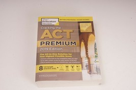Cracking the ACT Premium Edition with 8 Practice Tests, 2019 (College Te... - $9.99