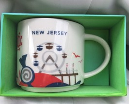 Starbucks New Jersey Coffee Mug You are Here Collection YAH New - $30.49