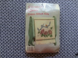 """Country Quilt GOOSE IN FLOWERS Cross Stitch SEALED Kit #075109 w/Rack-6""""... - $3.96"""