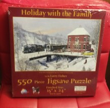 Holiday With The Family 550 Piece Puzzle - $26.24