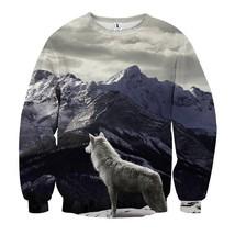 3D Printed Design Sweatshirt - $36.58