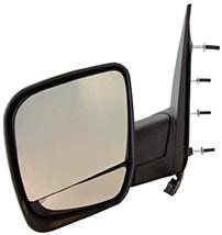 Fits 97-02  Pickup Light Duty Left Driver Pwr Mirror Chrome Folds No Ht,Sig