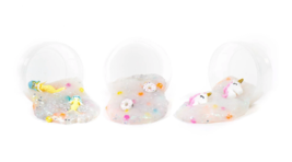SEALED Horizon Group SlimyGloop Mystery Glitter Slime Mix'Ems + Surprise Figure image 5