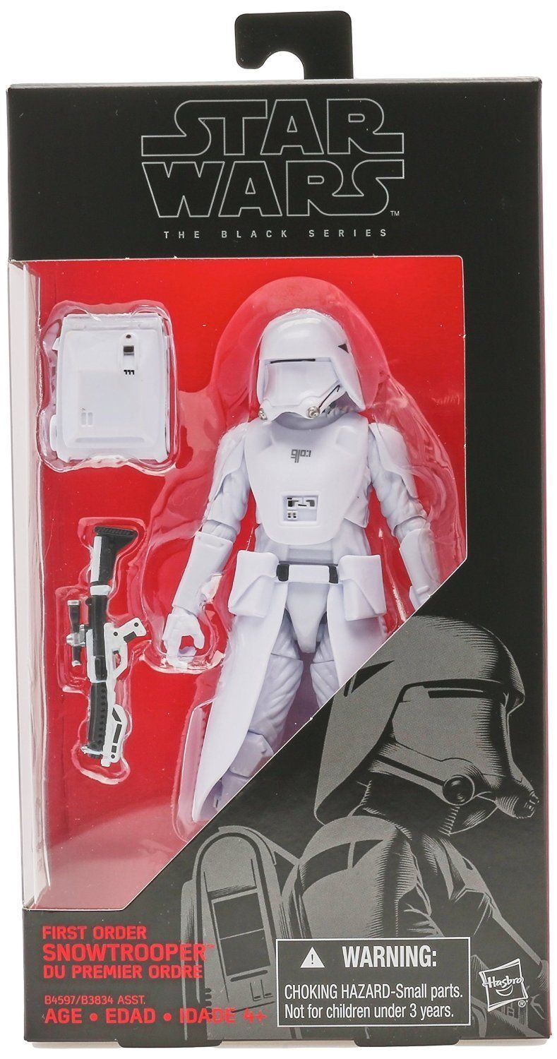 Star Wars TFA The Black Series 6-Inch First Order Snowtrooper Action Figure