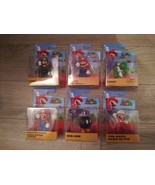 "2020 Jakks Pacific Super Mario lot 2.5"" Yoshi Luigi Fire Mario Bob-omb N... - $54.44"