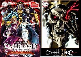 OVERLORD Season 1+2 Complete Series (1-26 End) Special Edition (Season 2 japanes