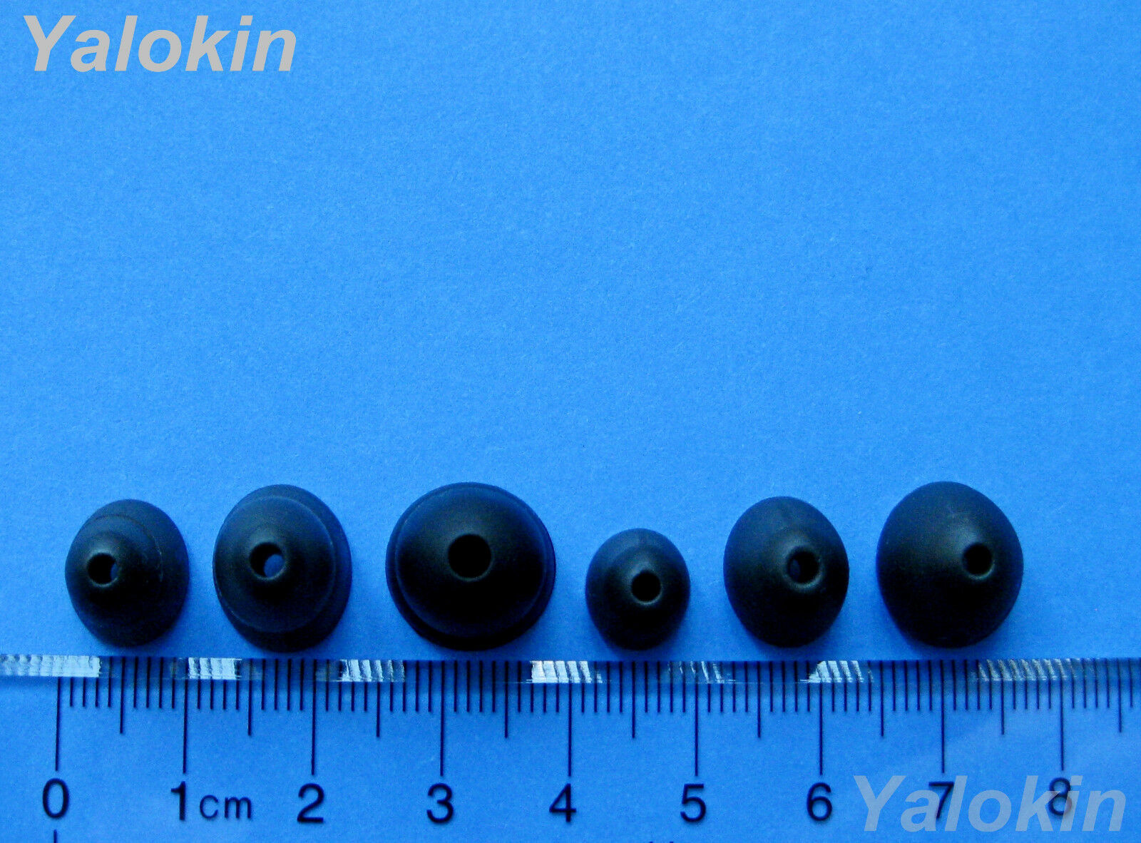 M-SLB 8pcs CX 5.00 Triple Flange Replacement Eartips for Sennheiser CX 3.00