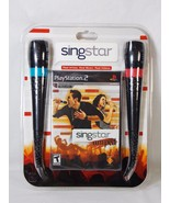 PS2 SingStar Amped Bundle for Sony PlayStation 2 Karaoke 30 Hits NEW DAM... - $44.54