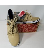 VANS CAMRYN SLIM NATIVE TAOSE TAUPE OMBRE BLUE MIDTOPS VN00SDVG1G WOMEN'... - $39.15