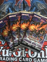 Yugioh Shadow Specters Factory Sealed 1st Edition Booster Packs x4 - $6.78